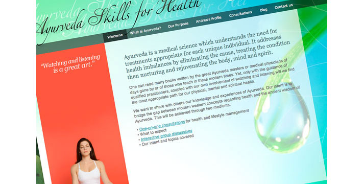 Ayurveda Skills For Health Website