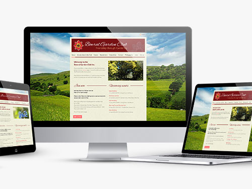 Bowral Garden Club Website