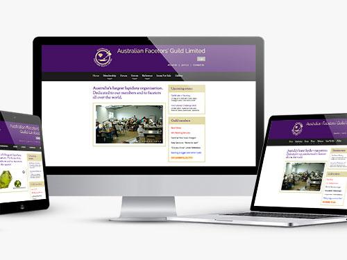 Australian Facetors Guild Website