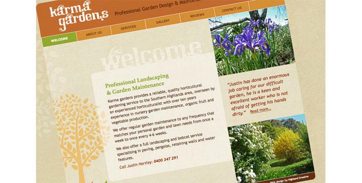 Karma Gardens Website