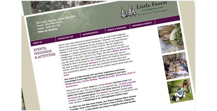 Little Forest Website