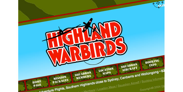Highland Warbirds Website