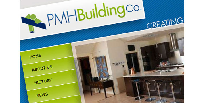 PMH Building Company Website