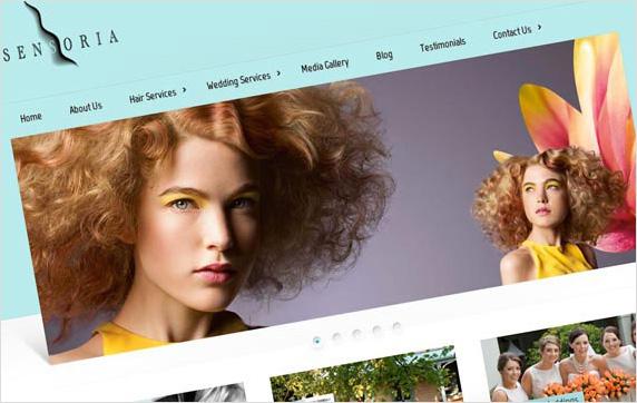 Sensoria Hair Website