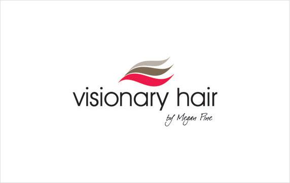 Visionary Hair Logo