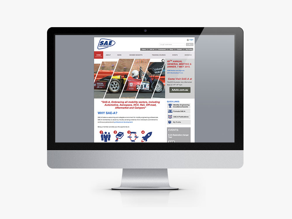 Society of Automotive Engineers Website