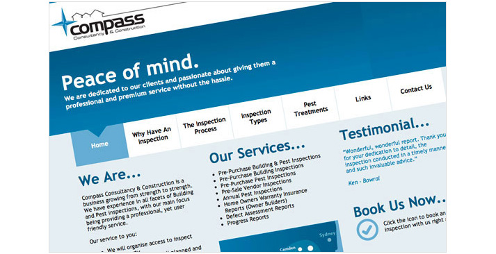 Compass Consultancy Website
