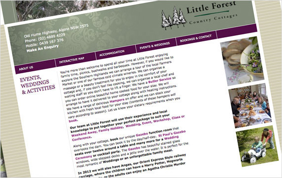 Little Forest Website