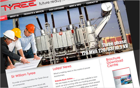 Tyree Industries Website