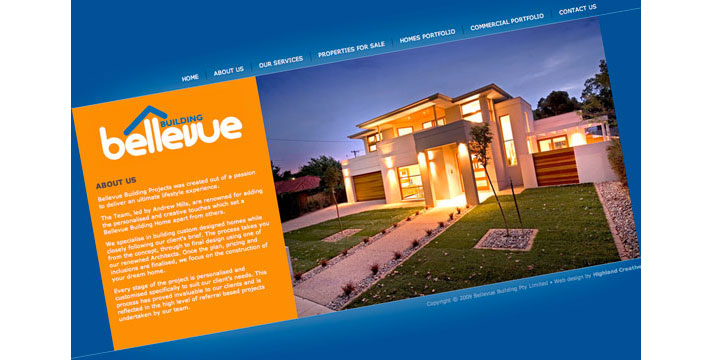 Bellevue Building Website