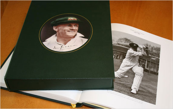Sir Donald Bradman Book