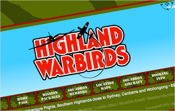 Highland Warbirds Website