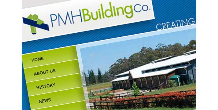 PMH Building Company Website