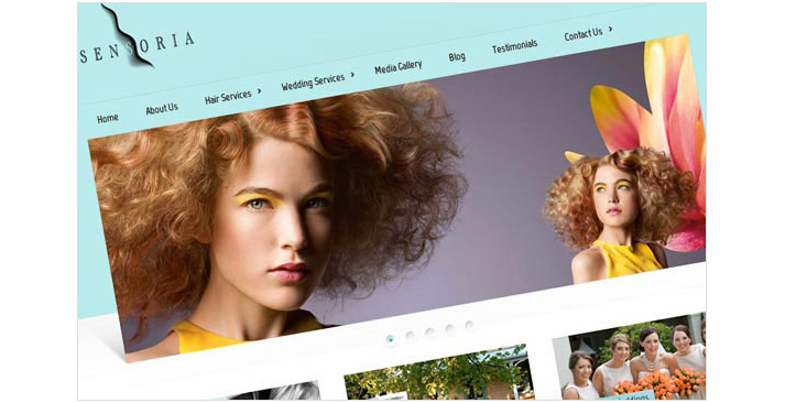 Sensoria Hair Website