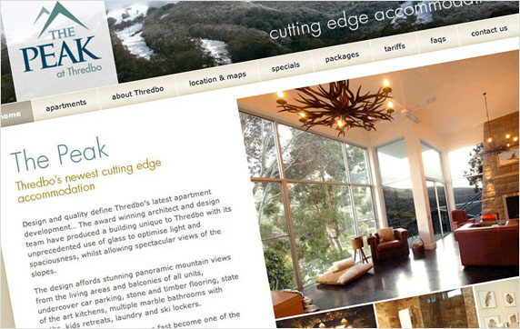 The Peak Thredbo Website