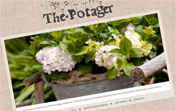 The Potager Website