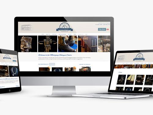 Mittagong Antiques Centre Website