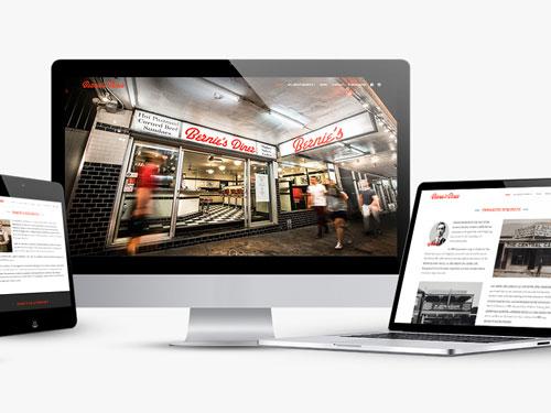 Bernie's Diner Website